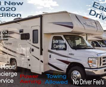 2020 NEW Exclusive 21 Crossover low profile sleeps 6