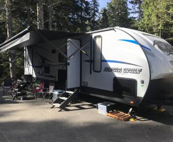 2019 Forest River Alpha wolf 26BH
