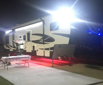 2017 Dutchman Voltage 3005 Toy hauler w/ optional golf cart rental