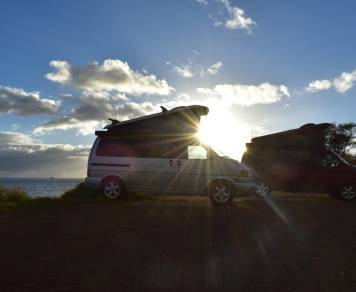 2004 Volkswagen Westfalia on Maui -
