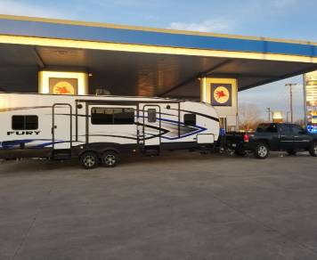 2018 Prime Time Fury Travel Trailer