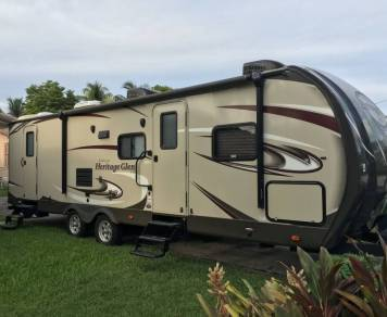 2015 Forest River Wildwood Heritage Glen 272BH