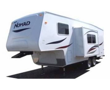 2004 5th wheel Nomad Bunkhouse Super Slide