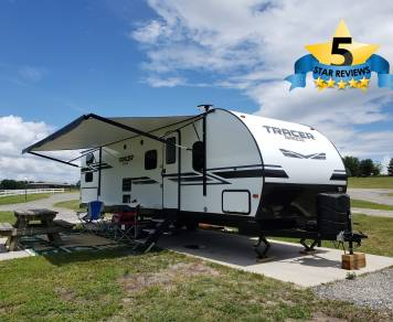 2019 Forest River Tracer Breeze 31BH with double slides by Prime Time