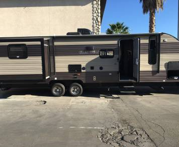 2017 Forest River Grey Wolf 27 Foot DBS