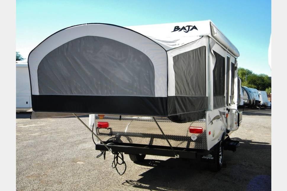 2010 Toy Hauler Pop Up Camper Rv Rental In Denver Co