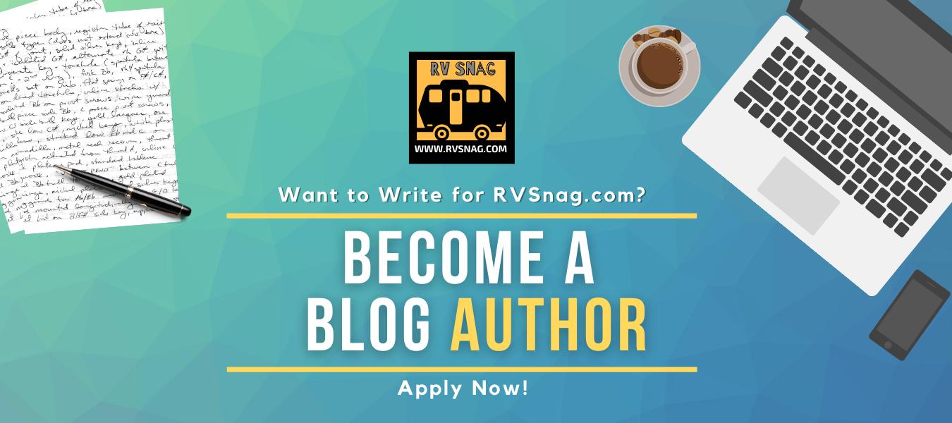 Become a guest author for RVsnag.com