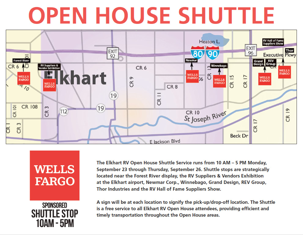 Open House Shuttle, Courtesy of Wells Fargo