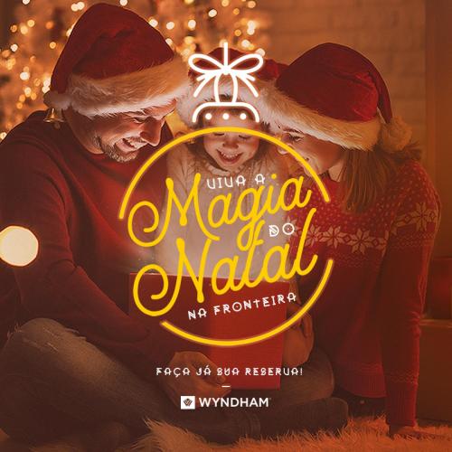 Natal especial no Wyndham Golden Foz Suítes