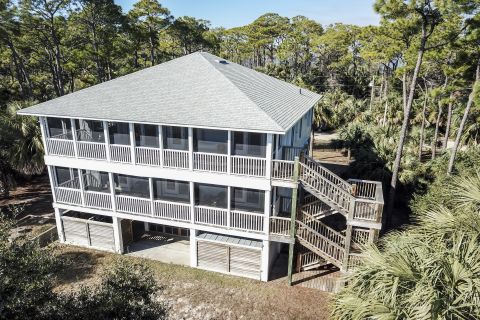Ocean View Escape, vacation rental in St. George Island, House Rental, 6 bedroom 4 ½ bathroom and sleeps 12