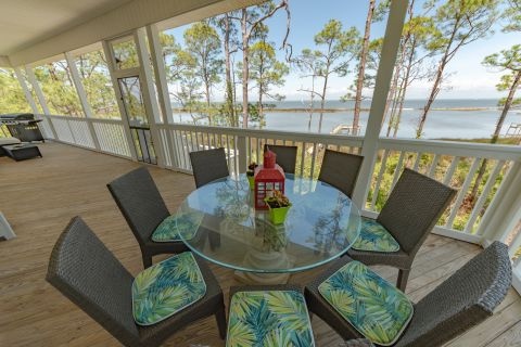 Bay Haven, vacation rental in St. George Island, House Rental, 5 bedroom 5 ½ bathroom and sleeps 12