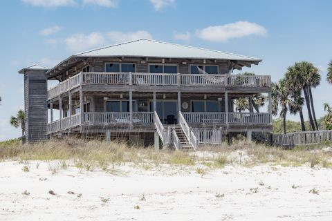 Blue Heaven, vacation rental in St. George Island, House Rental, 4 bedroom 3 ½ bathroom and sleeps 10