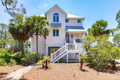 Cotton Candy, vacation rental in St. George Island, House Rental, 4 bedroom 3 ½ bathroom and sleeps 8