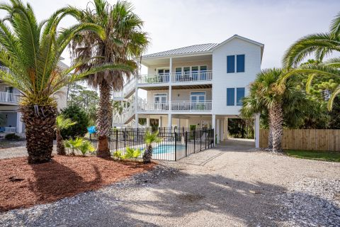 Eventide, vacation rental in St. George Island, House Rental, 4 bedroom 3 ½ bathroom and sleeps 12