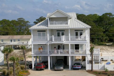 SEAVIEW, vacation rental in St. George Island, House Rental, 4 bedroom 3 ½ bathroom and sleeps 8