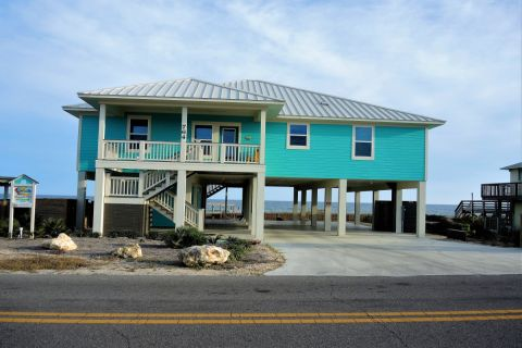 Made in the Shade, vacation rental in St. George Island, House Rental, 4 bedroom 4 bathroom and sleeps 10