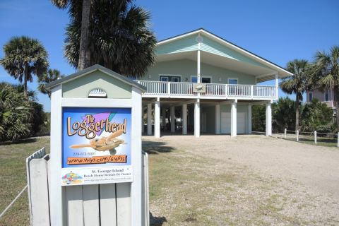 Loggerhead, vacation rental in St. George Island, House Rental, 3 bedroom 2 bathroom and sleeps 6