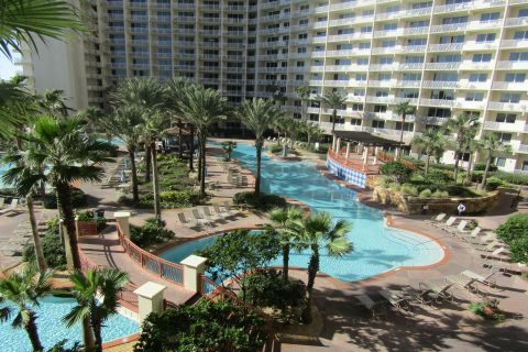 Shores of Panama Unit 425  Low Floor BEACHFRONT with same floor Reserved Parking