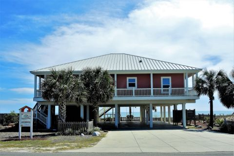 Island Princess, vacation rental in St. George Island, House Rental, 4 bedroom 4 bathroom and sleeps 8
