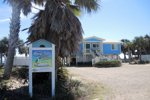 Gull Cottage, vacation rental in St. George Island, House Rental, 4 bedroom 2 bathroom and sleeps 8