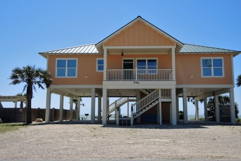 My Kinda Paradise, vacation rental in St. George Island, House Rental, 4 bedroom 4 bathroom and sleeps 8