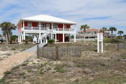Summer Wind, vacation rental in St. George Island, House Rental, 3 bedroom 3 bathroom and sleeps 8