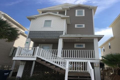 Aloha Time, vacation rental in St. George Island, House Rental, 3 bedroom 3 ½ bathroom and sleeps 8