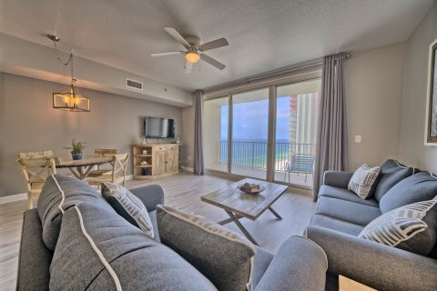 Shores of Panama Gulf front Condo 1527~Best Sunset Views!