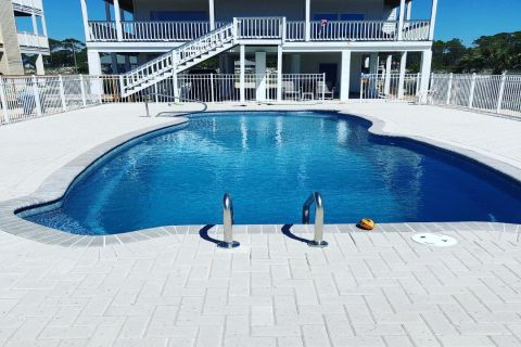 Best Thing Ever , vacation rental in St. George Island, House Rental, 4 bedroom 3 bathroom and sleeps 12