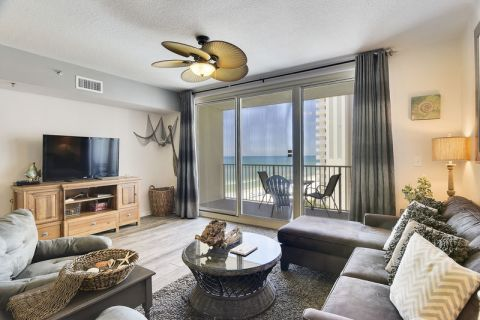 Vacations Perfected: Shores of Panama 926 in Panama City Beach. This exquisite 1 bedroom condo is located on the 9th floor in the Shores of Panama Res