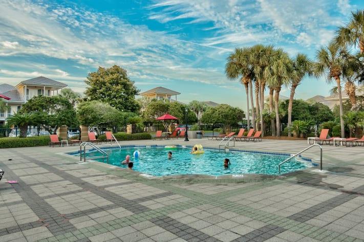 One of two pools (heated seasonally)