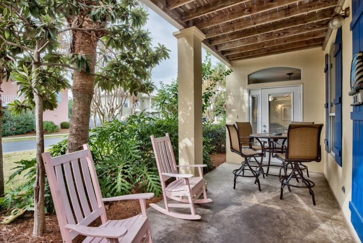 Porches and balconies to soak in the Gulf breeze