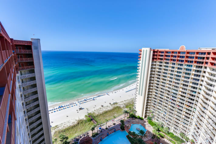 Beach View from the 23rd Floor!