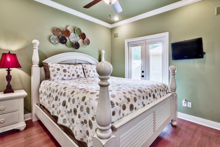 2nd Floor King Bedroom with shared bath