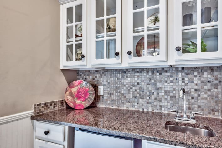 3rd Floor Bar with sink and mini-fridge