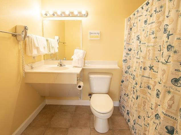 Bathroom for master bedroom