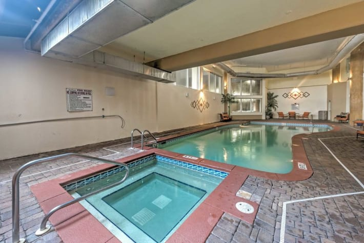 We Also have an In-door Pool to Enjoy.