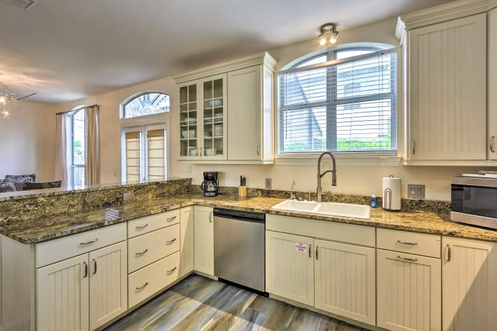 Ample countertop space for all of your culinary desires!