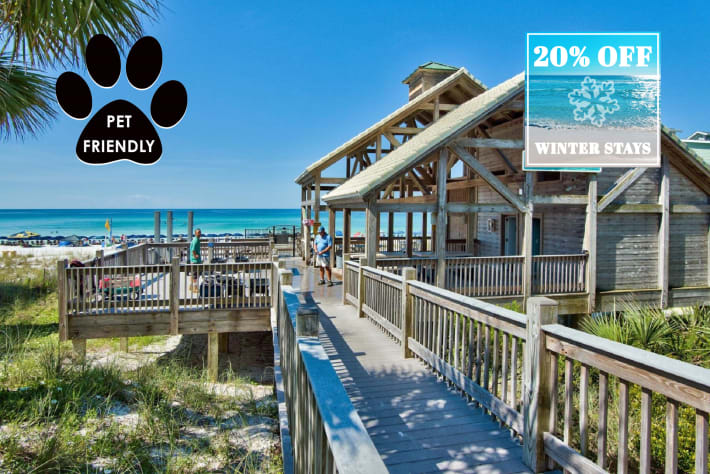 Emerald Shores Private Beach Access w/ Tiki Bar & Cafe, Restrooms/Showers & MORE