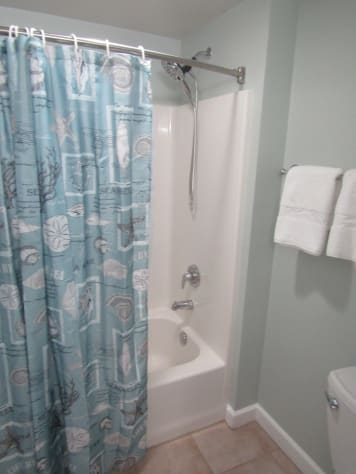 Private Master Bath with Tub/Shower Combo