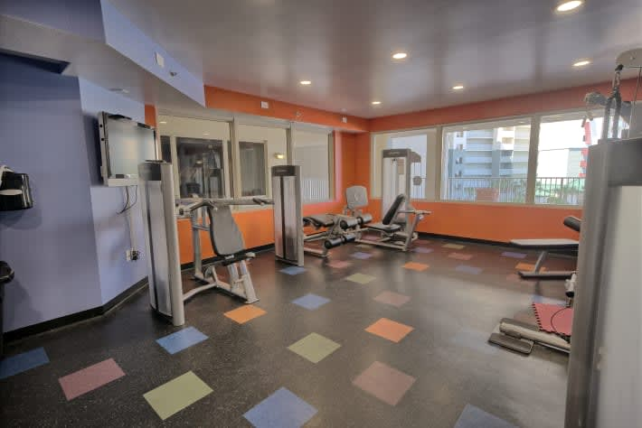 On-site Workout Area.      We offer All Amenities for a great vacation.