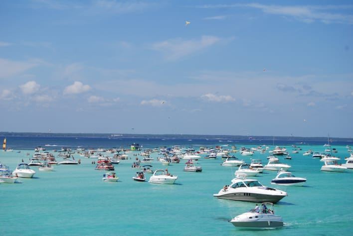 Beautiful Clear Emerald Waters of Destin