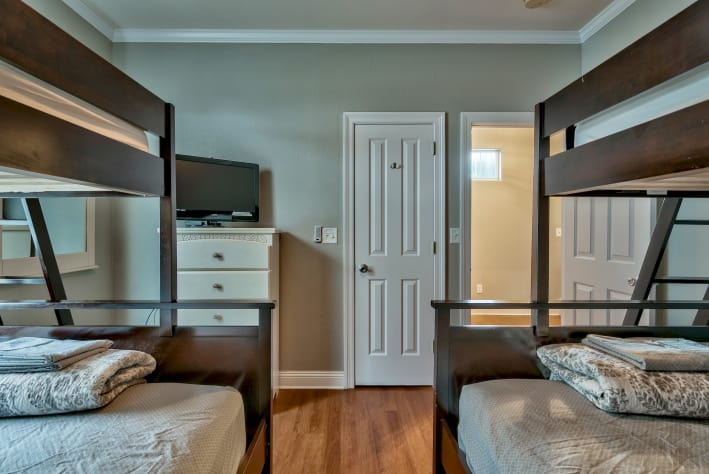 Bedroom # 3 - 2nd Flr, 2 Bunks, twins over fulls, flat screen & dvd