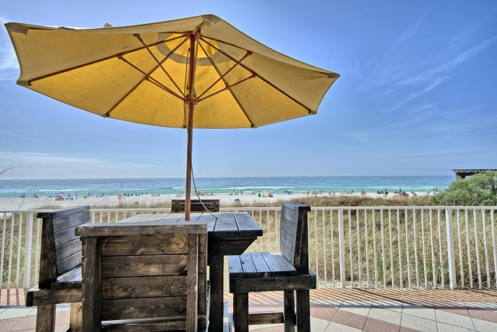 Relax Beach Side -- The White Sands of Panama City Beach await.