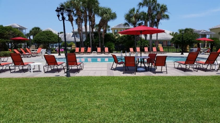 One of Two Community Pools in Emerald Shores
