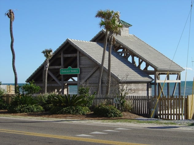 Emerald Shores' Beach Pavilion (private)
