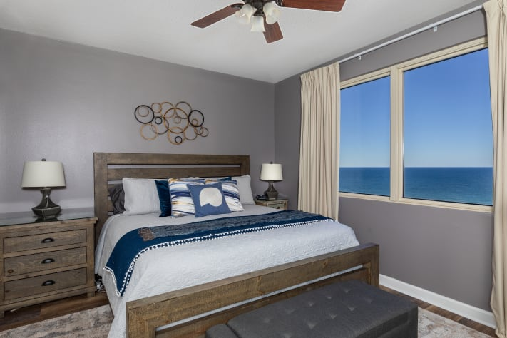 Master (King) Bedroom w/ Gulf of Mexico
