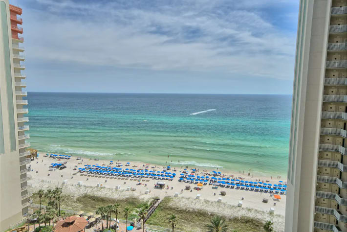 This IS the Beach view from the Balcony!