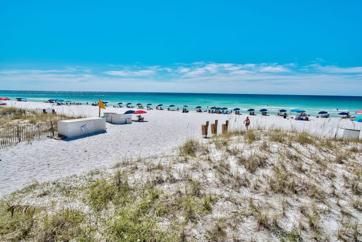 This is YOUR private beach at Emerald Shores