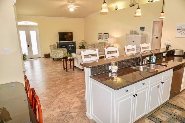 This Open Floor Plan is Perfect for Entertaining Family and Friends